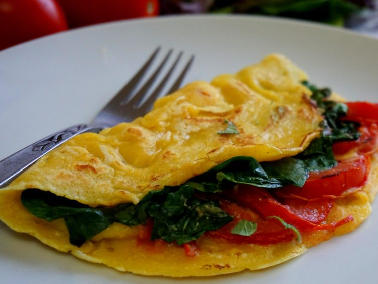 Try this vegan omelet and your breakfast will never be the same!!