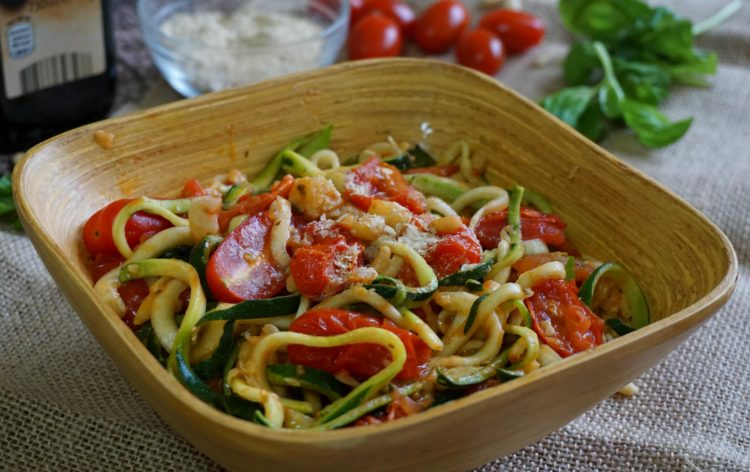 Best spaghetti ever: low calories and gluten free