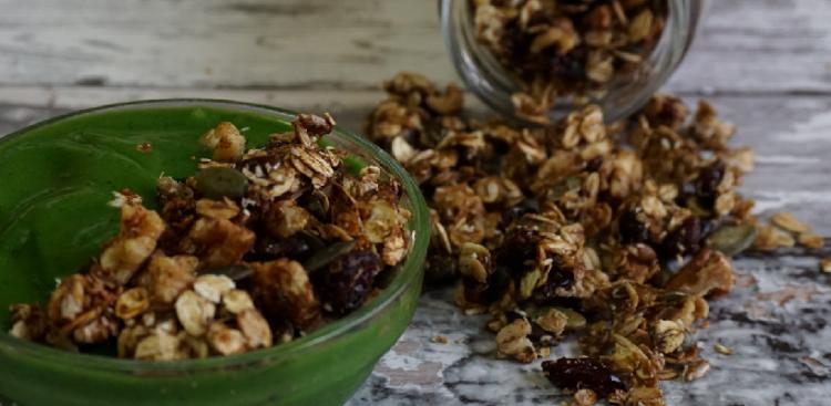 DIY granola: a escolha certa sempre