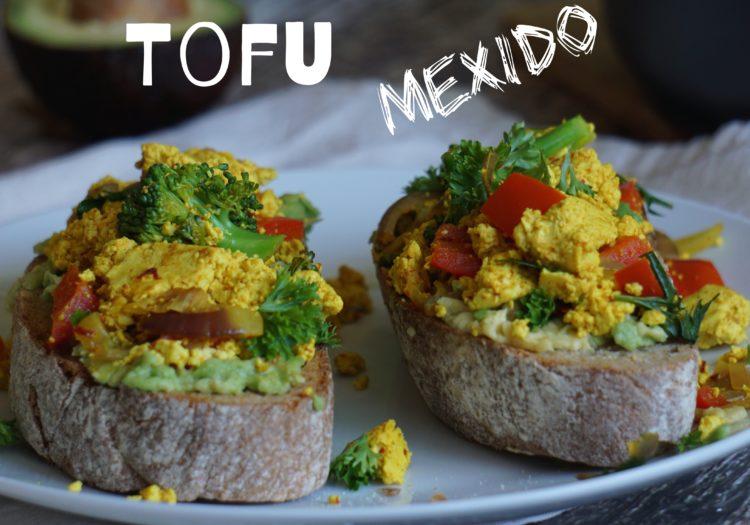 Tofu mexido