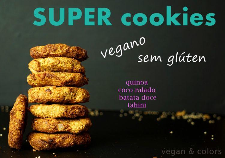 Super cookies feitos com superalimentos